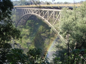 the bridge to Zambia