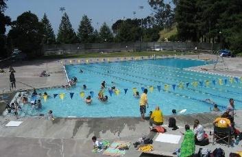 Strawberry Canyon pool