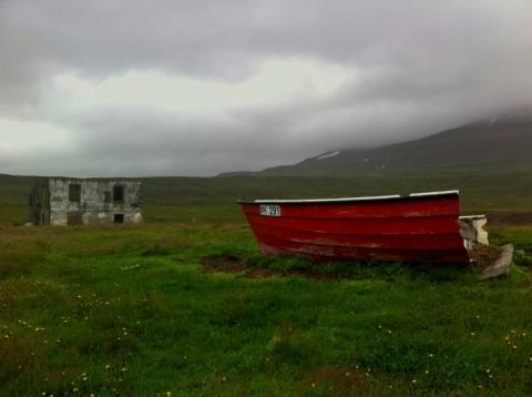 a half a boat