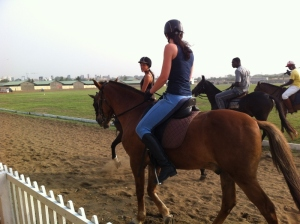 the Accra Polo Club