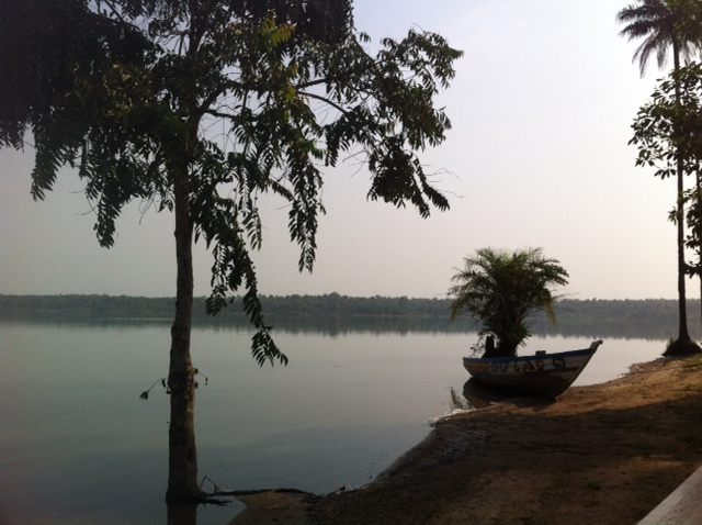 Lac Koba in Guinea