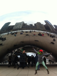 "jumping at the ""bean"""