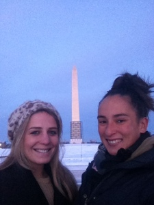 Me and Ursy by the Washington monument