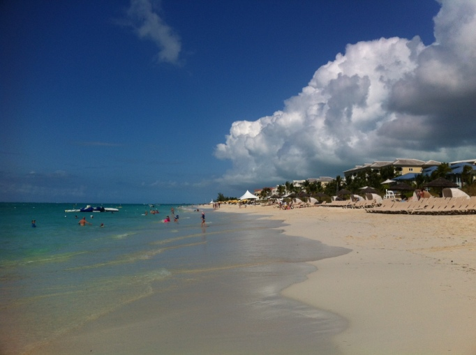 Grace Bay, 14 miles of perfect beach
