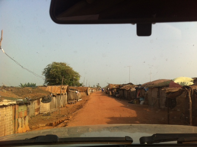a Guinean road