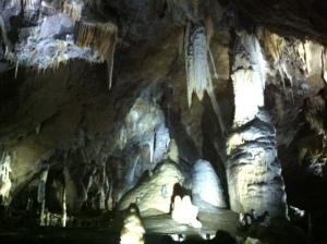 Punkva cave in Moravsky Kras