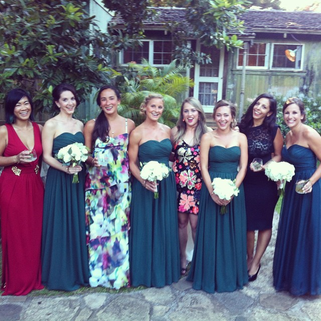 the bridesmaids and co.