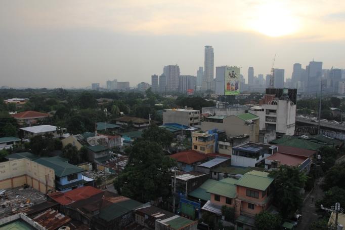 Manila at dusk