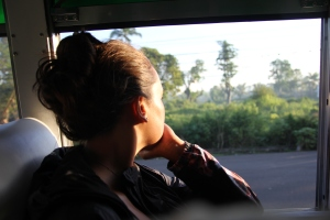busride at sunrise