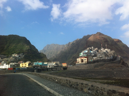 the hilltop villages of Ribeira Grande, Santo Antao
