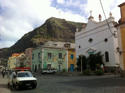 the colonial town of Ribeira Grande