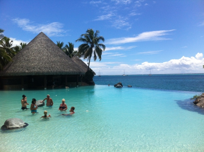 dreamy Tahiti ...in real life at the Beachcomber