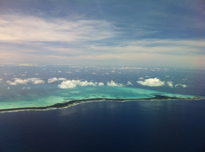 One of Kiribati's many atolls