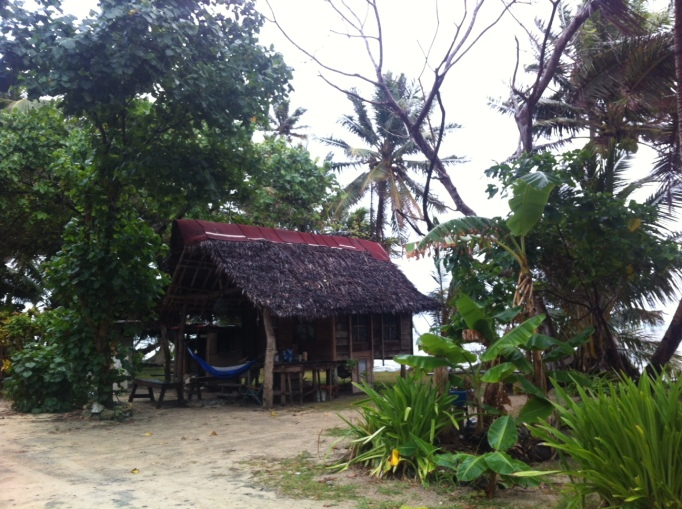 the beach house in Maap