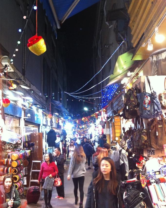 one of Taipei's many night markets