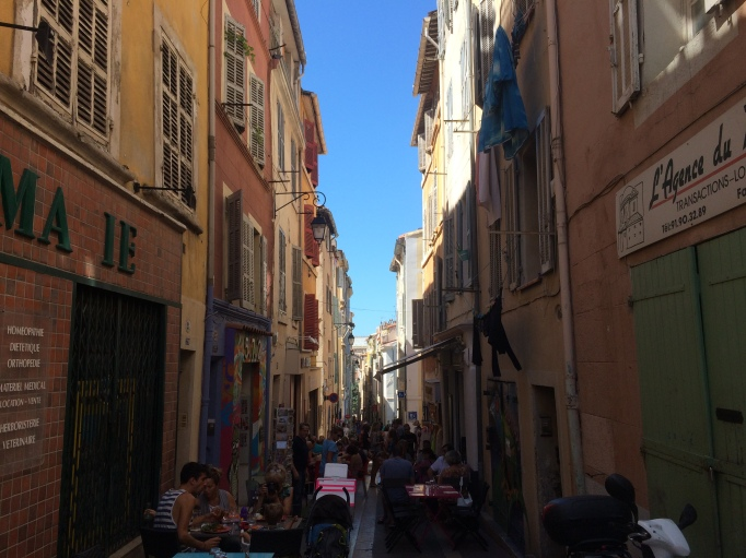 the old town of Nice
