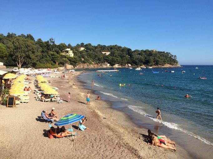 soaking up some Mediterranean sun