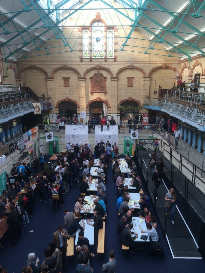 The Independent Manchester Beer Convention is held in the empty pools of the Victoria Baths