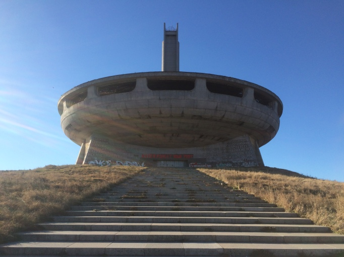 The UFO building Buzludzha