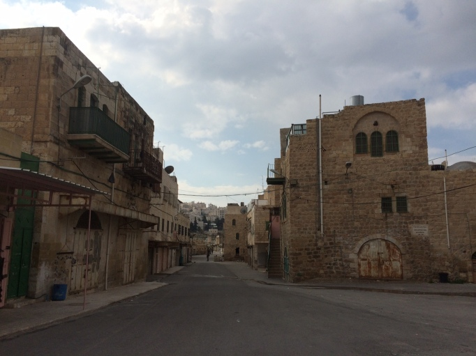 empty Shuhada street