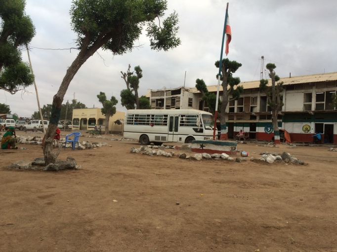 the Loyada border between Djibouti and Somaliland