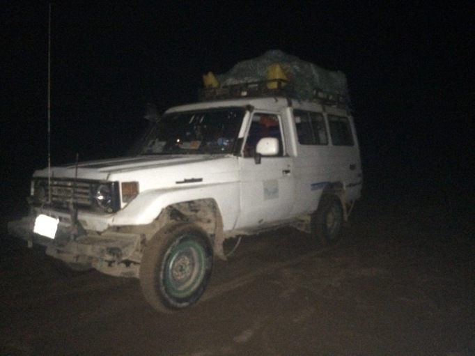 our overnight landcruiser to Hargeisa