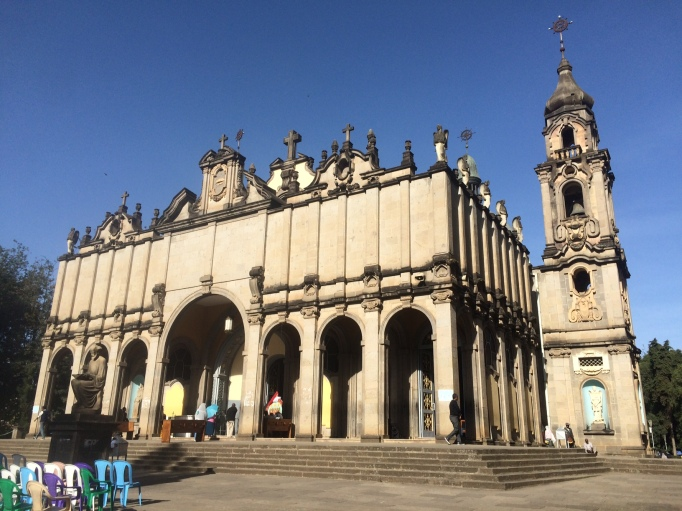 the Holy Trinity Orthodox cathedral in Addis