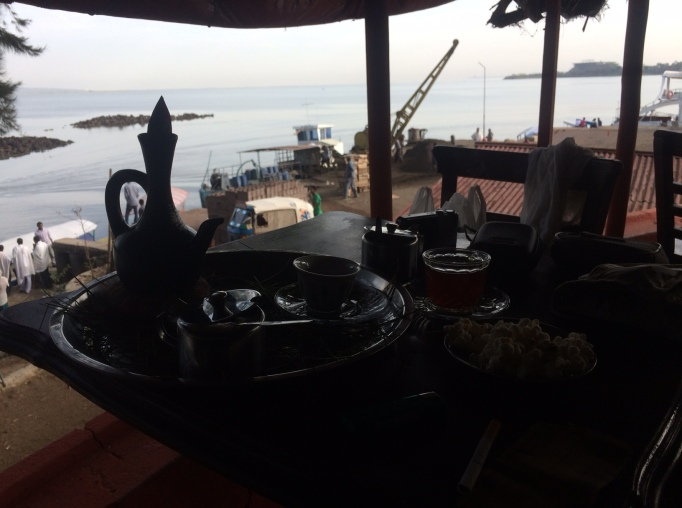 morning coffee in Bahir Dar