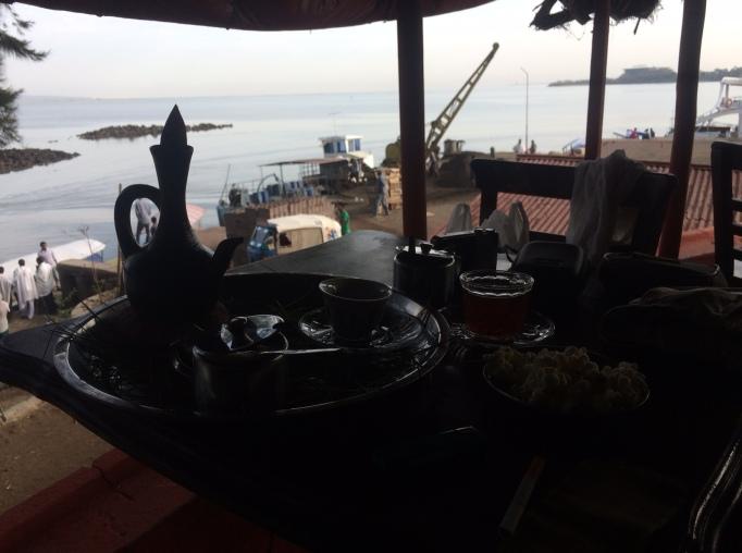 morning coffee in Bahir Dar