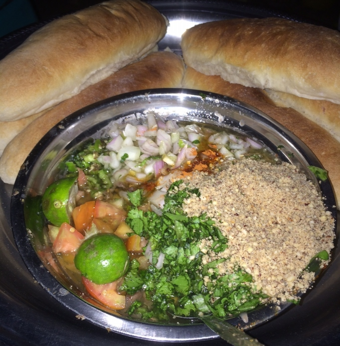 Sudanese ful, a fava bean concoction eaten with bread