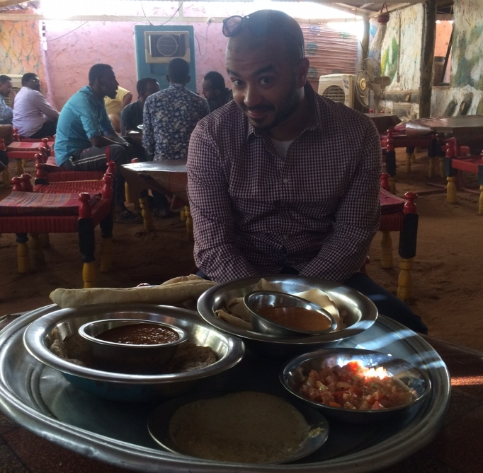traditional Sudanese lunch