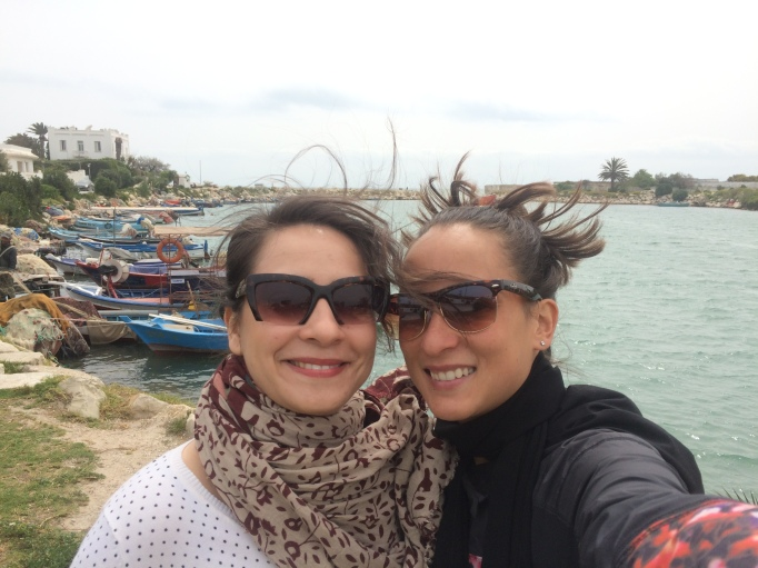 Asma and me in Carthage