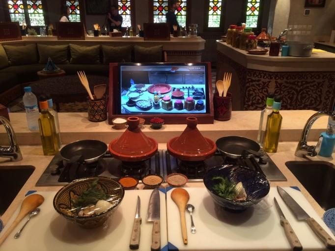 cooking class at La Maison Arabe