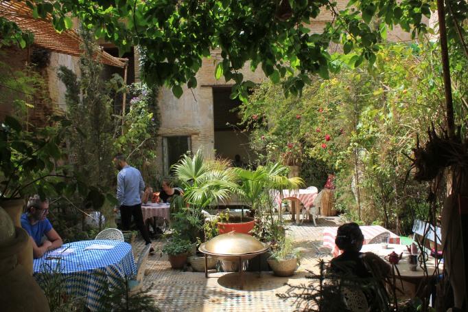 The Ruined Garden restaurant