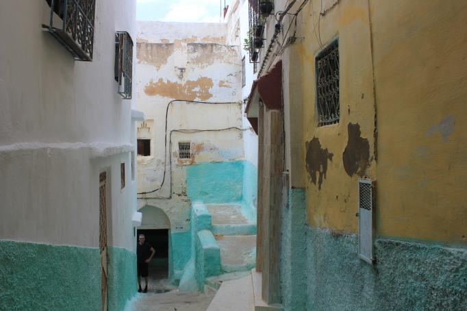 the colourful medina of Moulay idriss