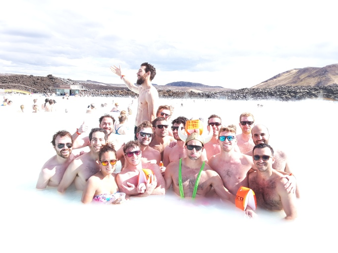 The bachelor party of 51 balls and 2 tits... noone is sure who has 1 or 3, or if I have some, but that's the official count