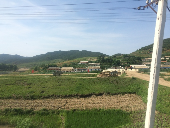 pastures and rice fields made the DPRK feel very rural at times