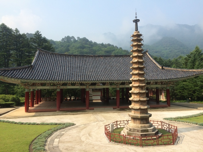 A 12th century Buddhist temple that still has resident monks
