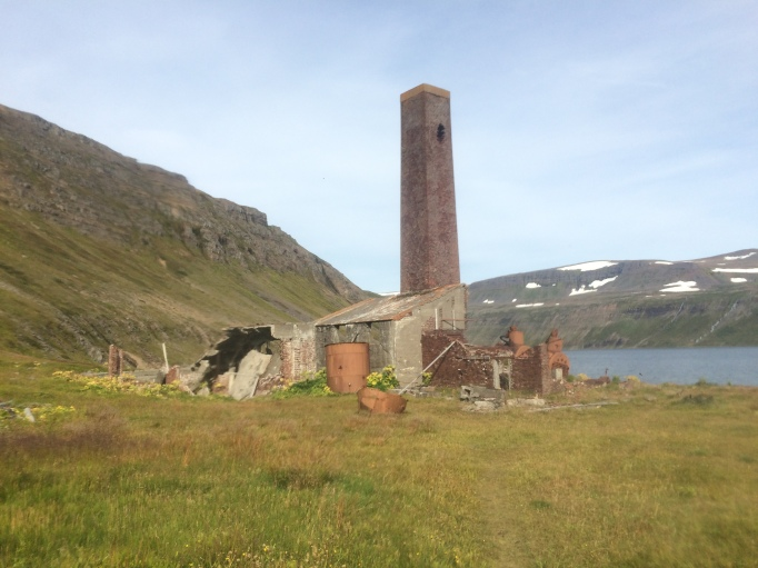 the old whaling station at Hesteyri