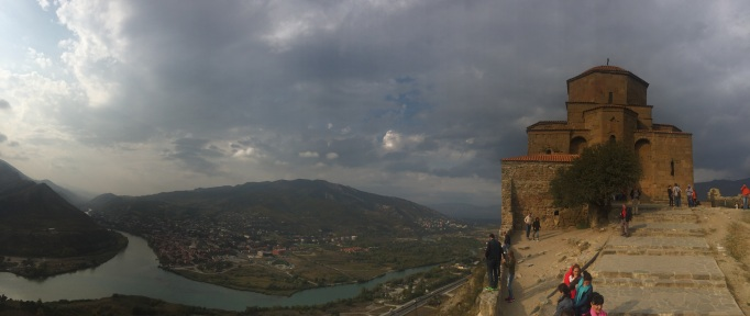 Visit hill-top monasteries, like Jvari overlooking the ancient capital Mtskheta