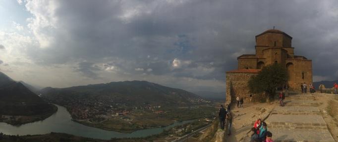 Visit hill-top monasteries, like Jvari overlooking the ancient capital Mtskheta