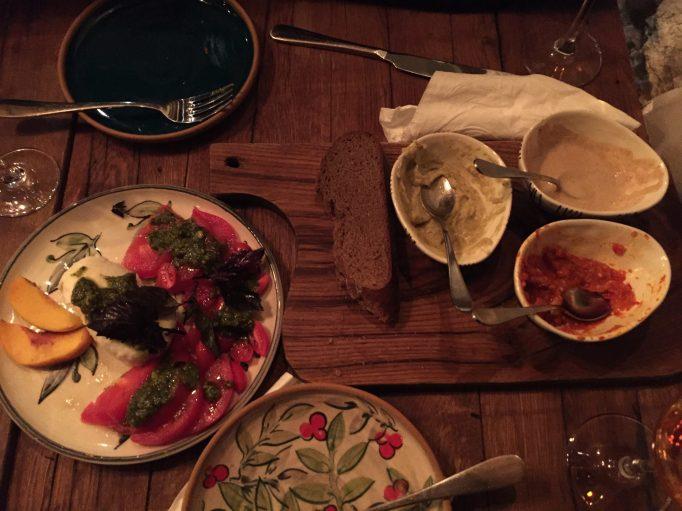 atleast tomatoes, hummus and wine are still kosher