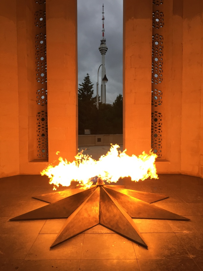 Baku's eternal flame