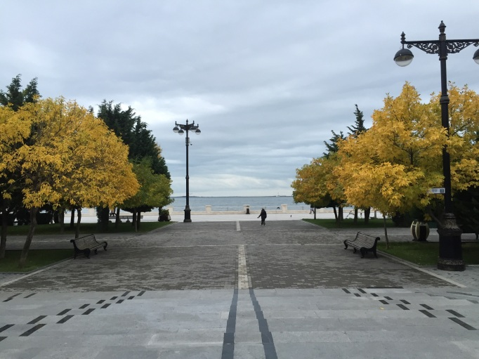 The Caspian Sea boulevard