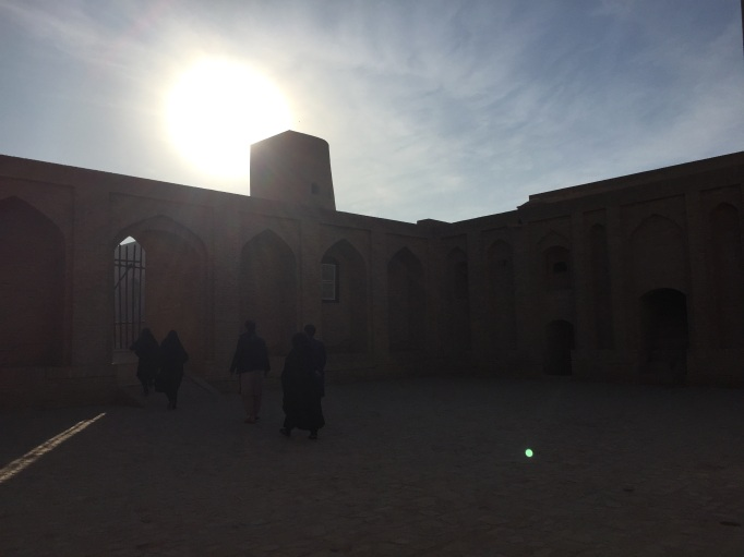 the Citadel in Herat is a major tourist attraction with no tourists