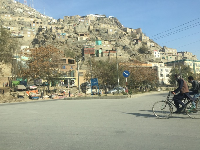 street scene from Kabul