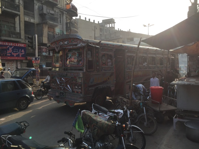 buses in Karachi are a piece of art
