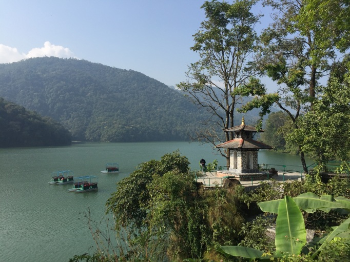 Phewa Lake in Pokhara