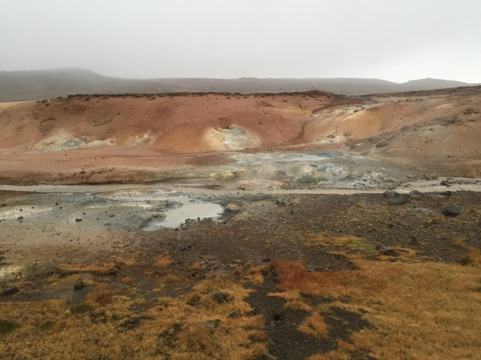 the natural geothermal area of Kyrsuvik