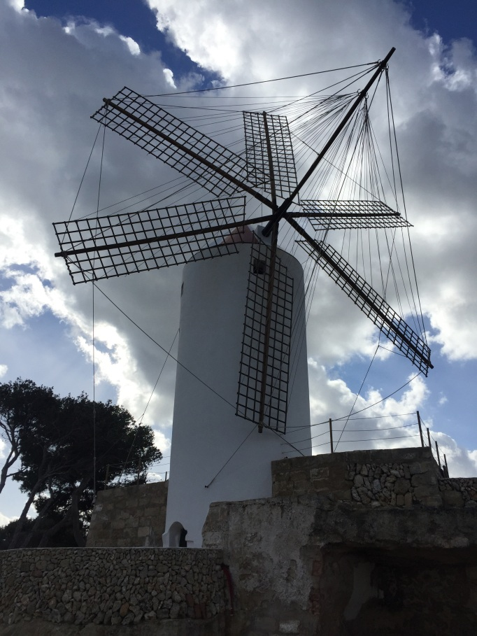 wind mills in Menorca